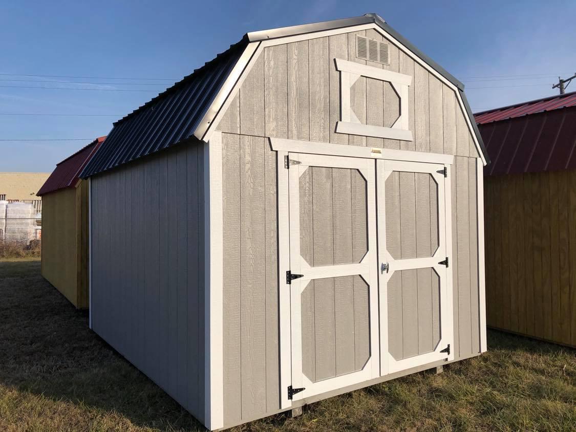 #30 10x12 Lofted Barn
