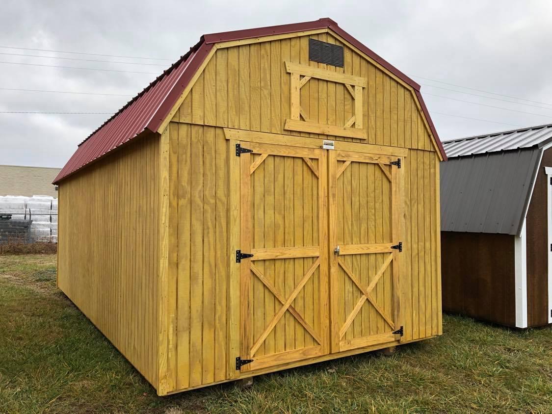 #22 10x20 Lofted Barn