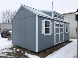 #45 10x20 Utility Dormer Shed