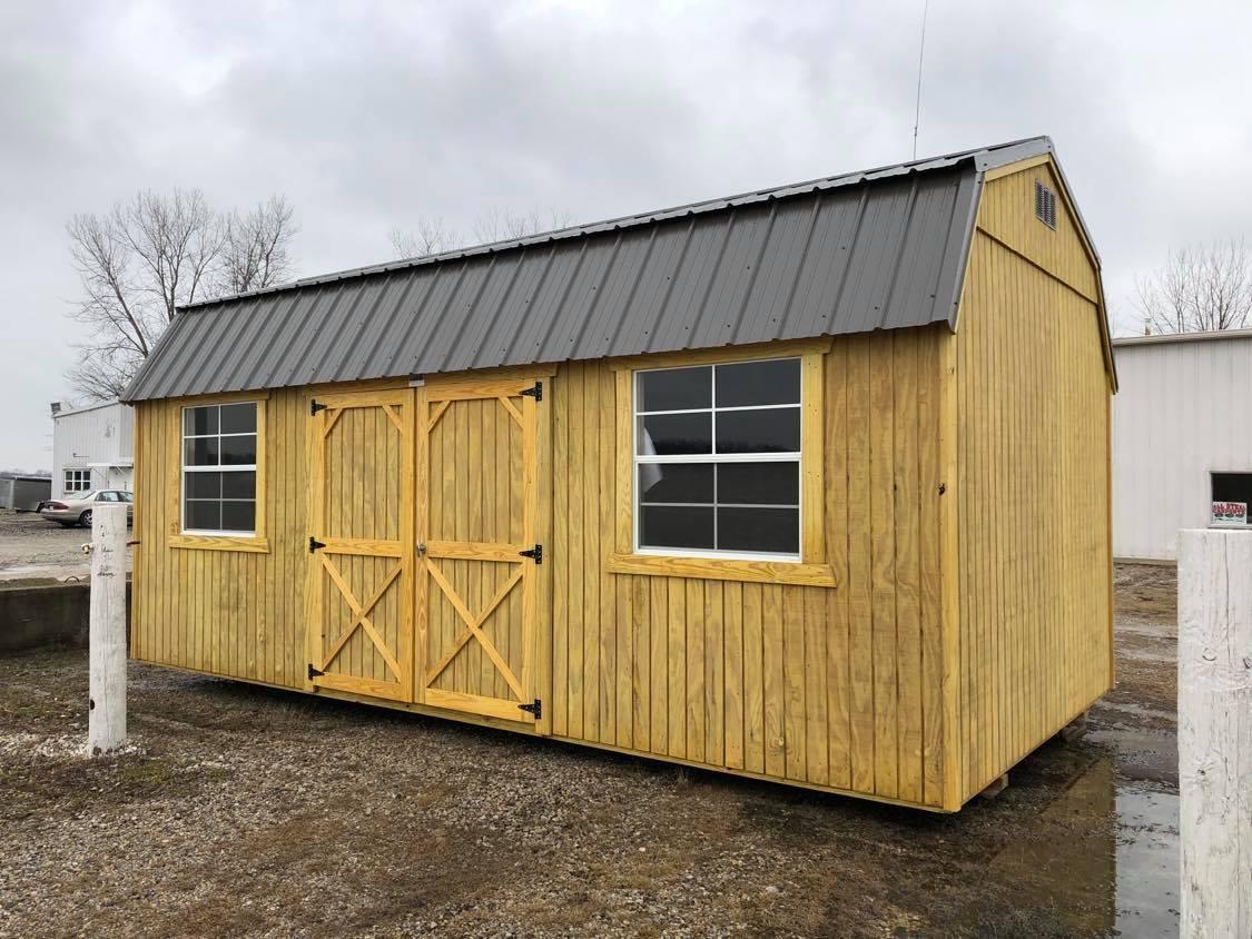 #8 10x20 Side Lofted Barn