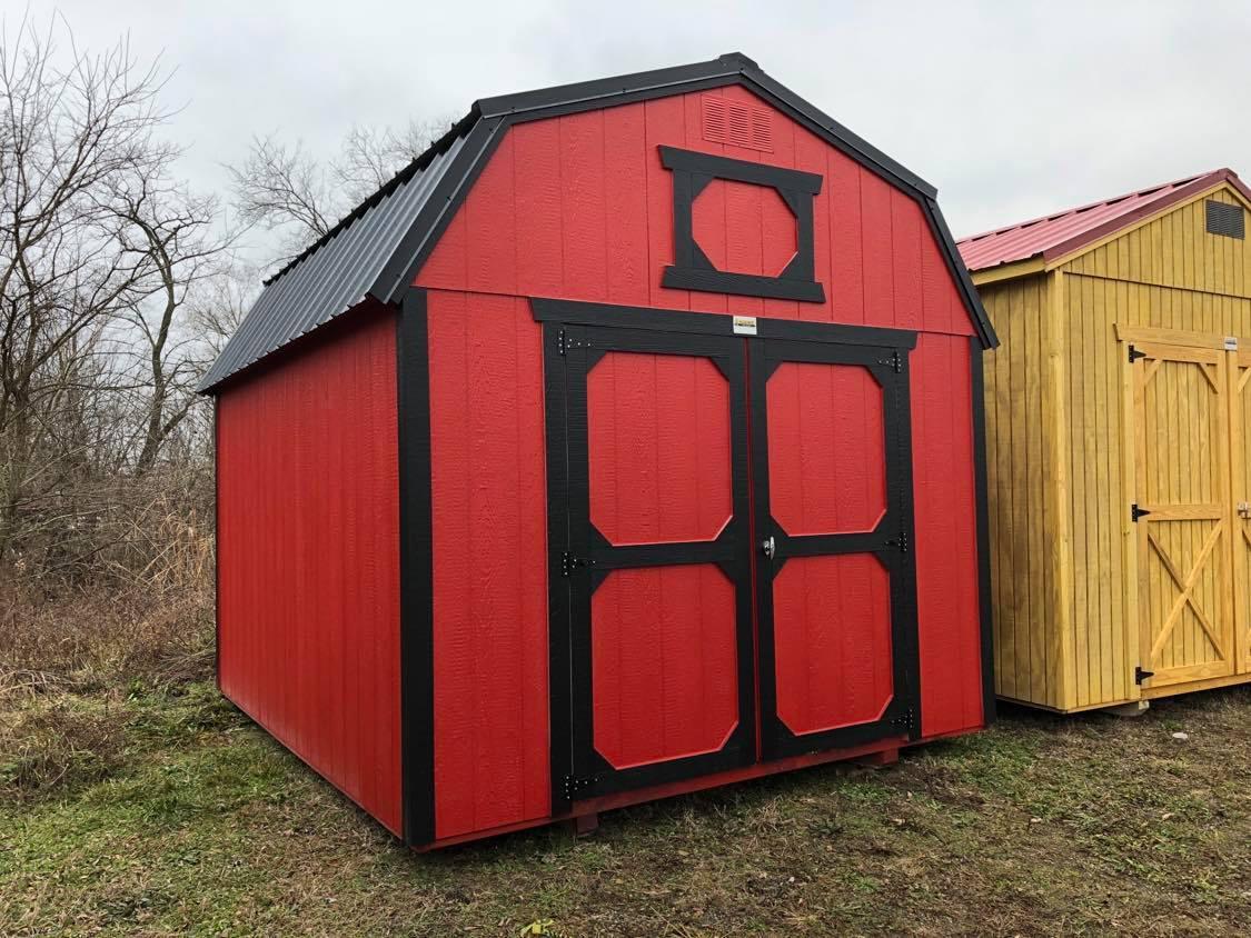 #14 10x12 Lofted Barn