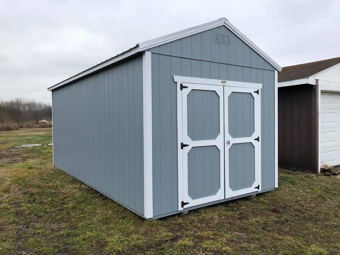 #18 10x20 Utility Shed
