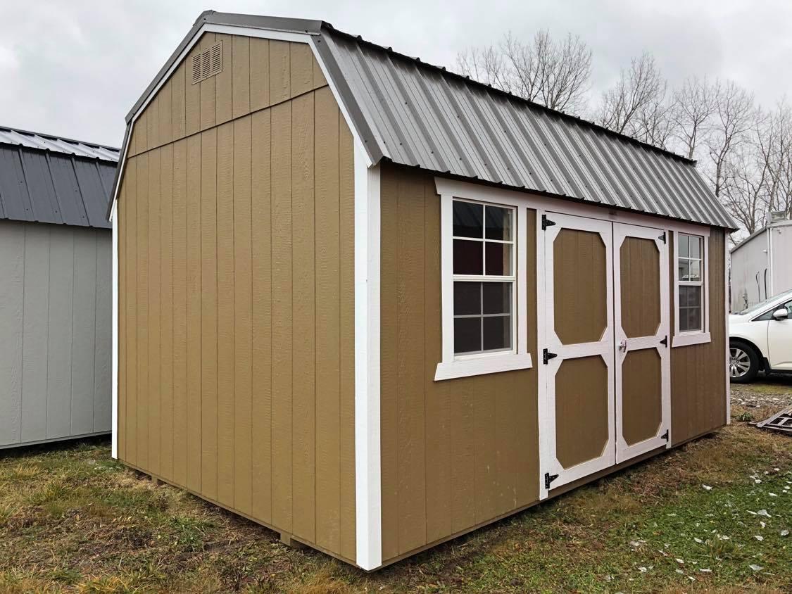 #10 10x16 Side Lofted Barn