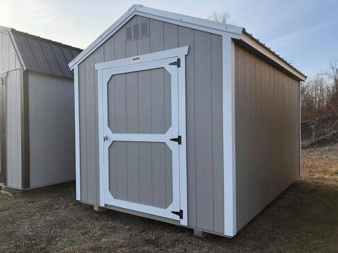#25 8x12 Utility Shed