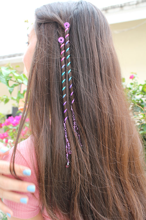 Metal Hair Wraps