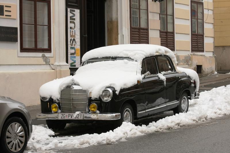 Zima snijeg 2018