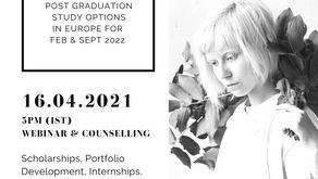 Webinar on PG Courses in Design & Management 2022