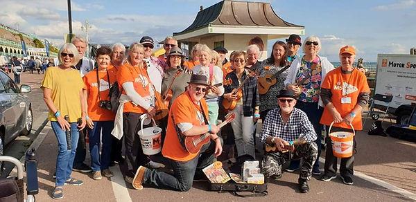 ukulele fundraising band