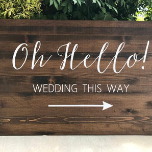 Oh Hello Sign