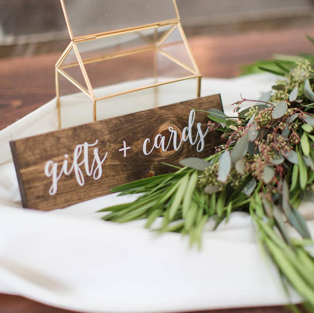 Gifts + Cards Sign