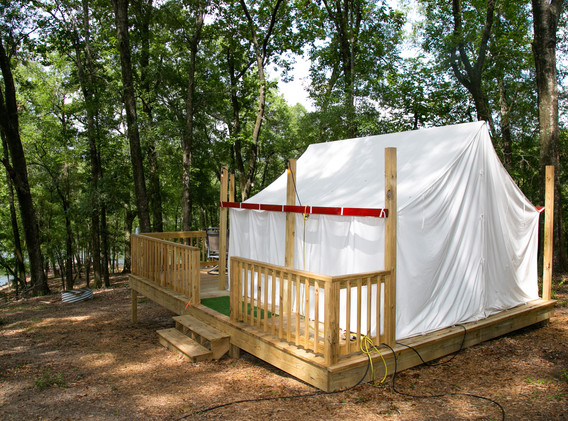 Glamping Tent w/ Queen Bed