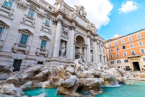 Italie - Fontaine de Trévi