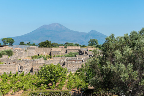 Italie - Pompei et Volcan Vésuve