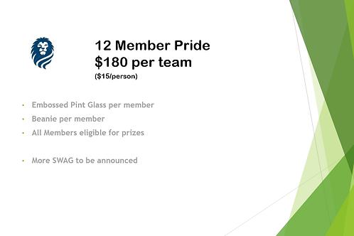 12 Member Pride