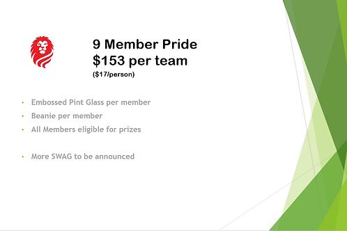 9 Member Pride