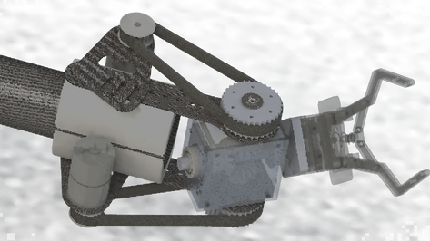 wrist differential mechanism