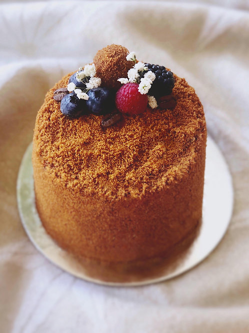 Mini Rounded Honey Cake