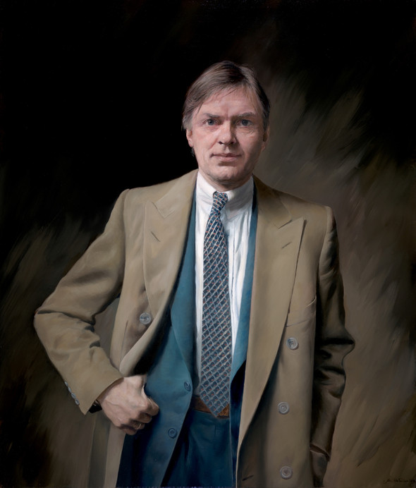 Portrait of Peter T. Smedvig   Oil