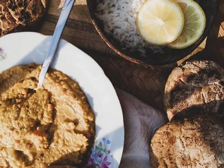 Petits pains façon Naan vegan et sans gluten !