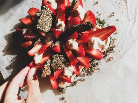 Tarte aux fraises sans farine vegan et sans gluten !