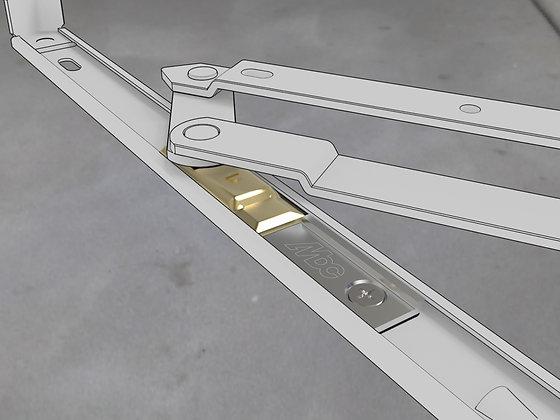 4 bar (Four Bar) hinge restrictor / limiter
