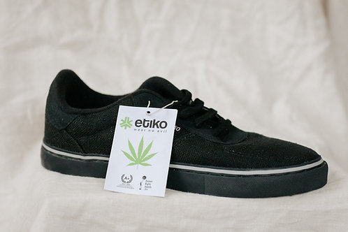 Etiko Lowcut Hemp Sneakers