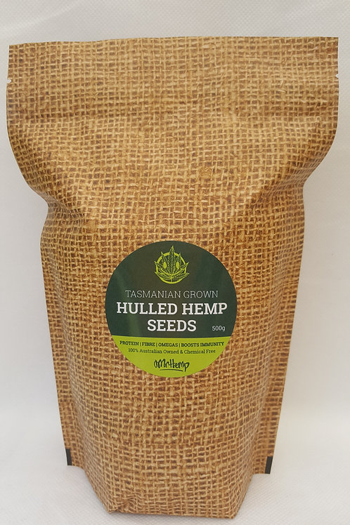 Hulled Hemp Seeds (500g)