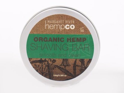 Organic Hemp Shaving Bar (100g)