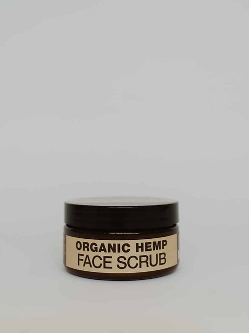 Organic Hemp Face Scrub
