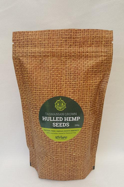 100% Natural Hulled Hemp Seeds (250g)