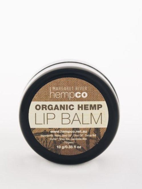 Organic Hemp Lip Balm (10g)
