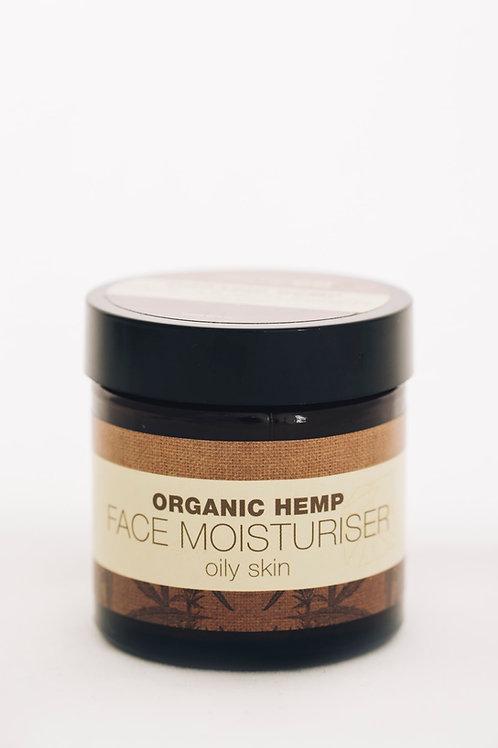 Organic Hemp Facial Moisturiser (oily skin)