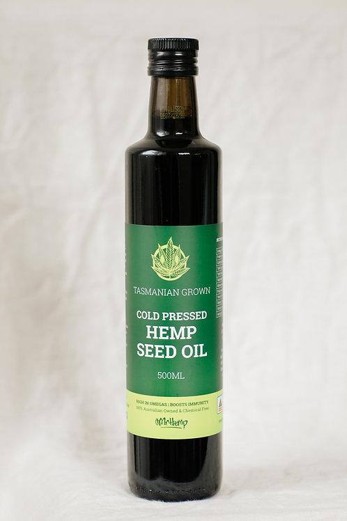 Tasmanian Hemp Seed Oil (500ml)