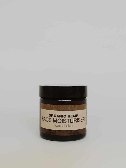 Organic Hemp Facial Moisturiser (normal skin)