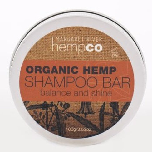 Organic Hemp Shampoo Bar (100g)