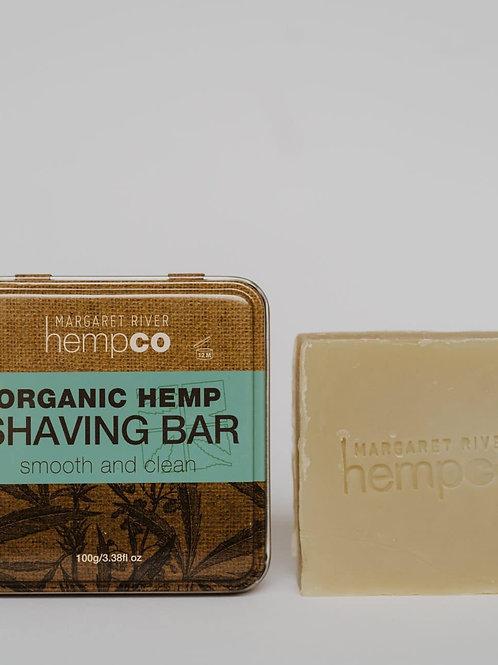 Organic Hemp Shaving Bar (100g)