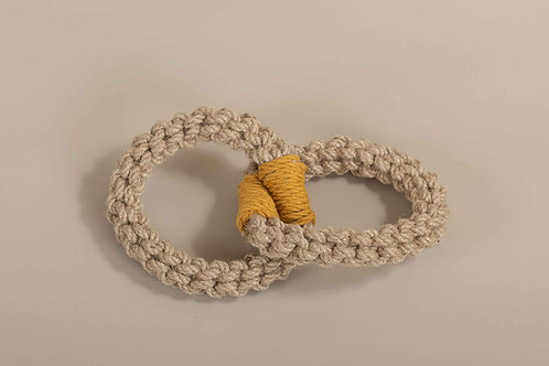 Mustard Double Ring Toy