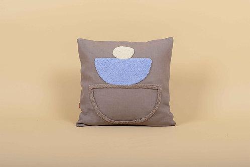 Linen Punch Cushion