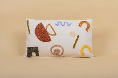 Punch Rectangular Cushion