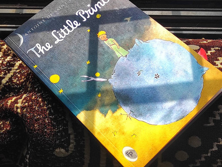 The Little Prince is definitely a book that will stay forever with me