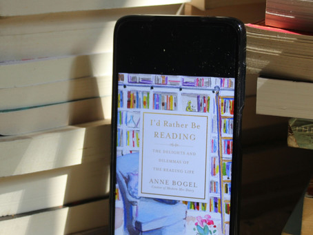 A Read For Readers : I would rather be reading by Anne Bogels