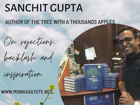 "Author Interview with Sanchit Gupta about his book ""The Tree with a Thousand Apples"""