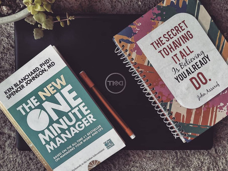 Non Fiction November : The New One Minute Manager - A Review
