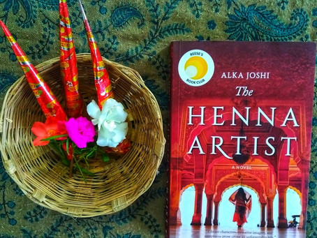 The Henna Artist by Alka Joshi is a masterpiece with a strong female protagonist