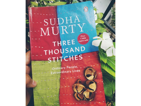 Three Thousand Stitches - Book Review