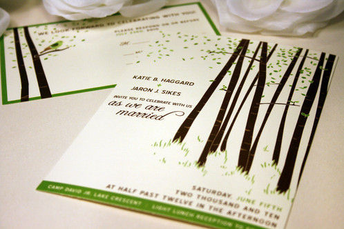 Winter forest wedding invitation vo handmade leave me a message if you want to see a certain color and ill include it if i have it in my sample stock this wedding invitation design stopboris Choice Image