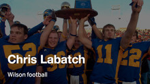 Labatch's Homecoming as Next Wilson Football Coach No Longer a Dream
