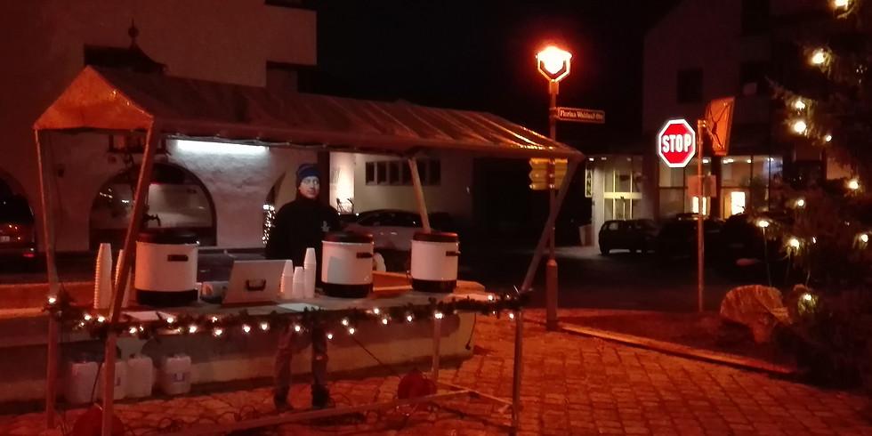 Glühwein-Ausschank Weihnachten