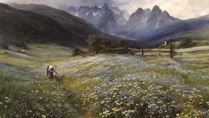 John MacWhirter - June in the austrian Tyrol