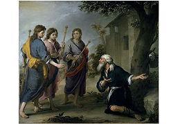 14 Abraham und die drei Männer